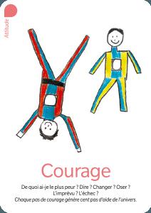courage - carte du jeu Valeurs Ajoutées