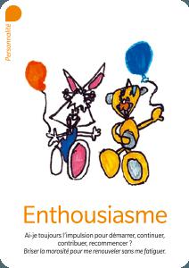 enthousiasme - carte Valeurs Ajoutées