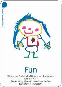 "carte ""fun"" du jeu Added Values"